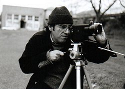 Bill with Super 8 camera, 1998